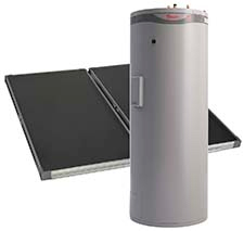 Rheem Premier® Loline solar hot water heater systems